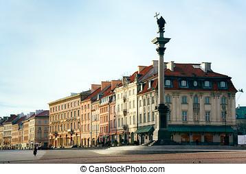 Warsaw - Sigismund's Column on Castle Square