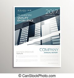 creative business brochure or flyer poster design template