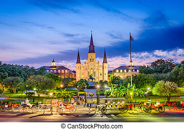 St. Louis Cathedral New Orleans - New Orleans, Louisiana,...