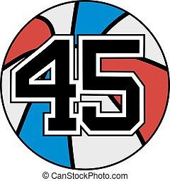 45 basket - Creative design of 45 basket