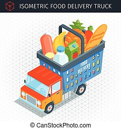 Food delivery truck