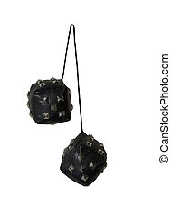 Leather and Spikes Dice similar to the fuzzy dice that are...
