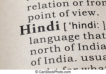 definition of Hindi - Fake Dictionary, Dictionary definition...