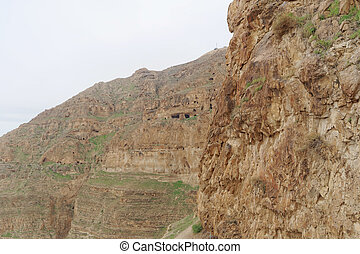 View the Mount of Temptation in Jericho.