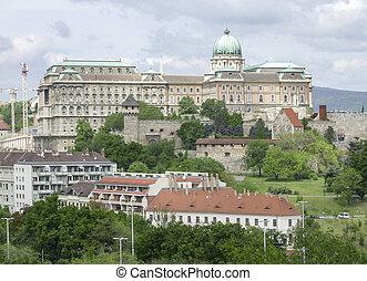 Buda Castle in Budapest - scenery at Buda Castle in...