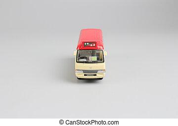 toys of hk mini bus mode at display - the toys of hk mini...