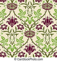 Floral Background - Ornate Floral Background