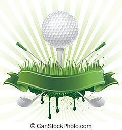 golf sport - vector golf sport design element