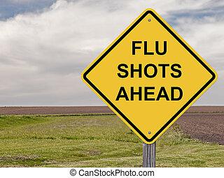 Caution - Flu Shots Ahead