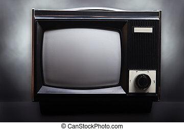 Retro television screen