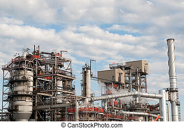 Petrochemical Refinery Plant