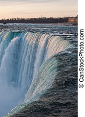 Brink of Niagara Falls - A view of the brink of Niagara...