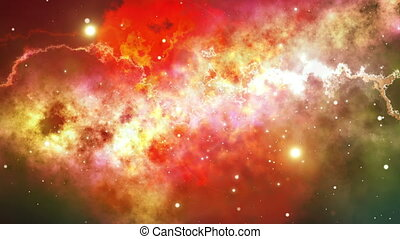 """Colorful Starry Night Sky Outer Space background."""