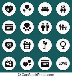 Set Of 16 Editable Amour Icons. Includes Symbols Such As...