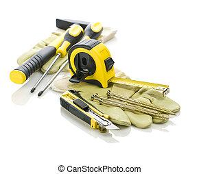 big set of tools