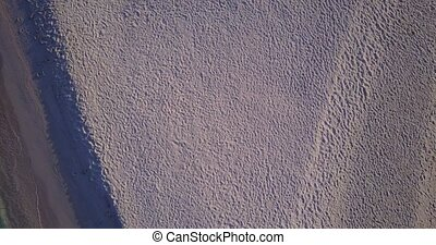 v04398 Aerial flying drone view of Maldives white sandy...