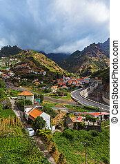 Mountain village Serra de Aqua - Madeira Portugal - Mountain...