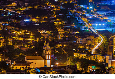 Town Funchal - Madeira Portugal - Town Funchal in Madeira...
