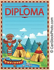 Diploma concept image 3 - eps10 vector illustration.