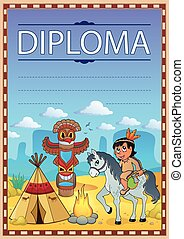 Diploma concept image 4 - eps10 vector illustration.