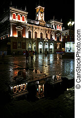 Valladolid - Casa Consistorial - beautiful town hall in...