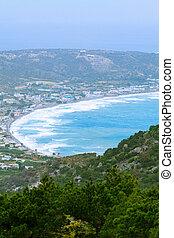 kefalos, wyspa, zatoka, wybrzeże,  Kos, grecja