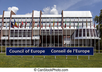 Council of Europe Building - Strasbourg - France - The...
