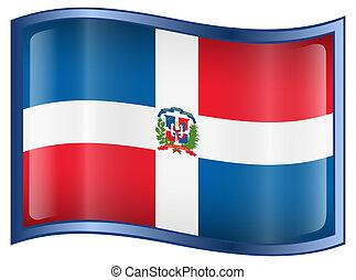 Dominican Republic Flag icon.