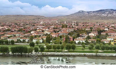 Ordinary turkish anatolian town Turkey 3
