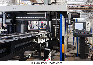 metalworking machine - new and powerful metalworking machine...