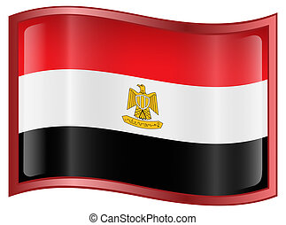 Egypt Flag icon.