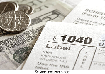 Tax Forms 1040 for IRS
