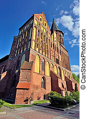 Cathedral of Koenigsberg, Gothic of the 14th century....