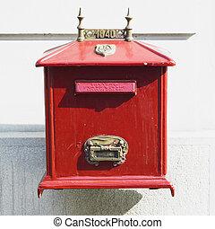 letter box, Belgrade, Serbia
