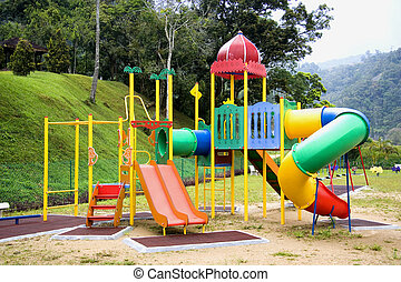 Children Playground - A new and colourful Children...