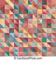 Abstract background with colorful pyramids shape