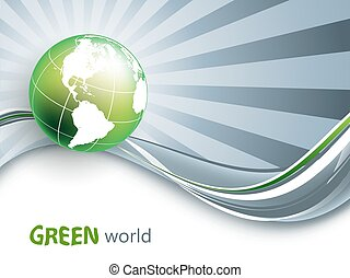 environmental vector background