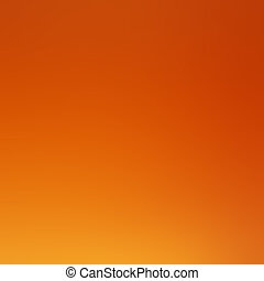 Abstract orange color  background with gradient, blur texture with copy space, poster for your design.