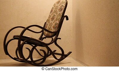 Rocking-chair - Rocking-chair in loneliness without the...