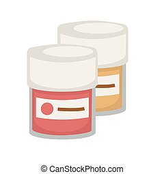 Artist or painter gouache, watercolor or oil paint tube...
