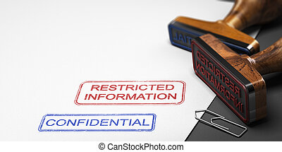 Confidential Information, Clasified Data