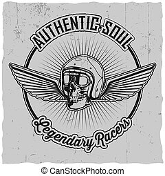 Authentic Soul Legendary Racers Poster