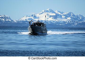 agalla, red, barco, PWS, Ak