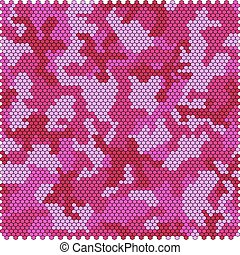 Camouflage pixel seamless