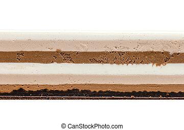 torta, bianco, struttura