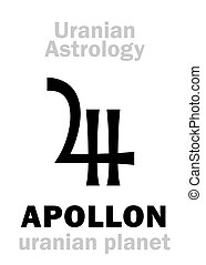 Astrology: APOLLON (uranian planet) - Astrology Alphabet:...