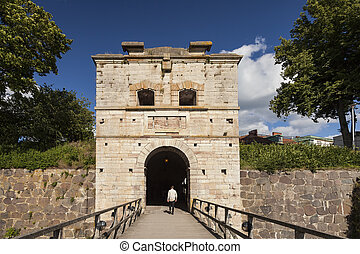 Old gate tower
