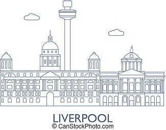 Liverpool, The most famous buildings of the city
