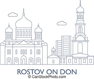 Rostov on Don, The most famous buildings of the city -...
