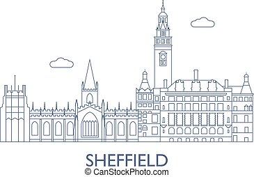 Sheffield, The most famous buildings of the city -...